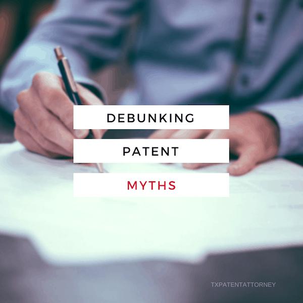 Debunking 4 Patent Myths