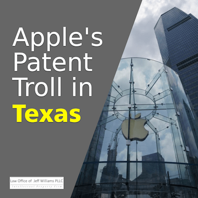 Apple to Close East Texas Stores to Thwart Patent Trolls