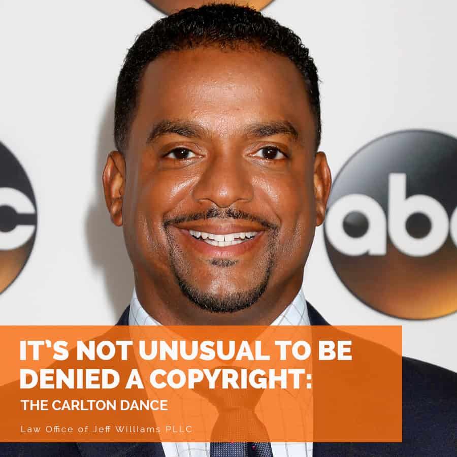 It's Not Unusual to be Denied a Copyright: The Carlton Dance