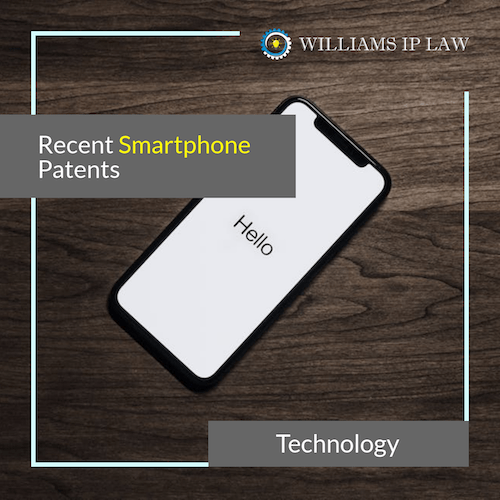 Recent Smart phone patents