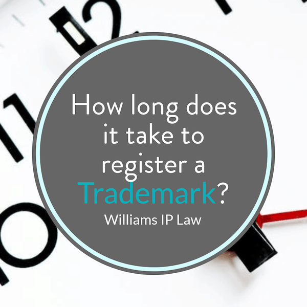 How long does it take to register a trademark