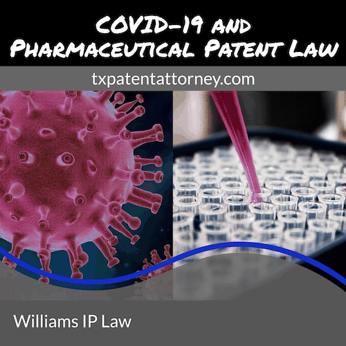 COVID-19 and Pharmaceutical Patent Law