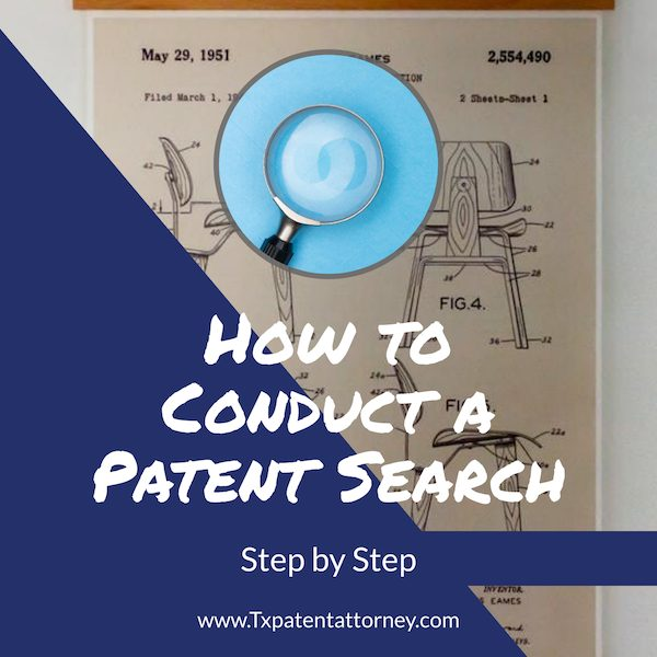 how to conduct a patent search step by step