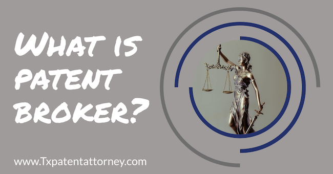 what is a patent broker